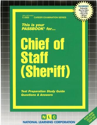 Chief of Staff (Sheriff)