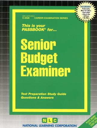 Senior Budget Examiner