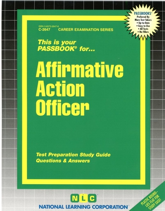Affirmative Action Officer
