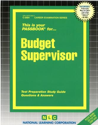 Budget Supervisor