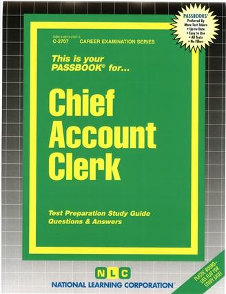 Chief Account Clerk