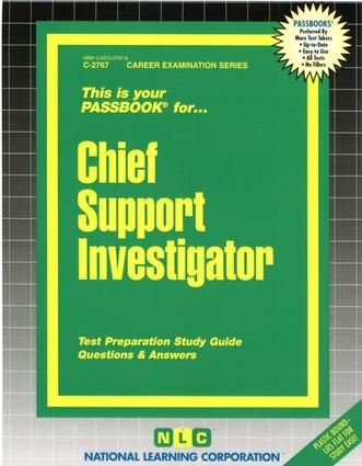 Chief Support Investigator