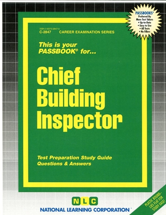 Chief Building Inspector