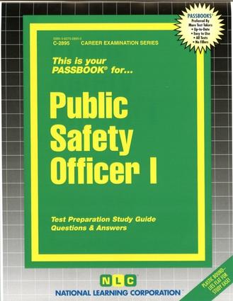 Public Safety Officer I