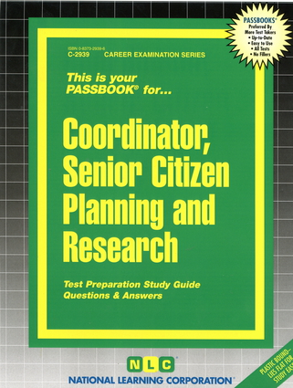 Coordinator, Senior Citizen Planning and Research