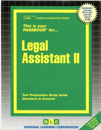 Legal Assistant II