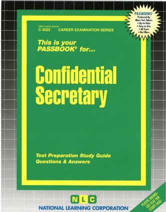 Confidential Secretary