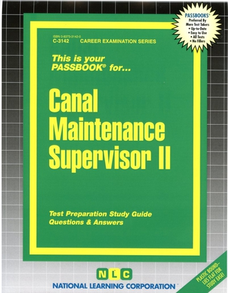 Canal Maintenance Supervisor II