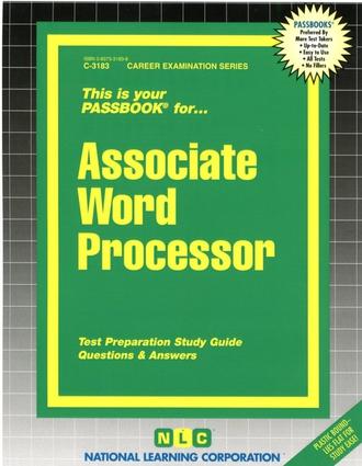 Associate Word Processor