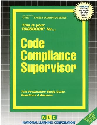 Code Compliance Supervisor