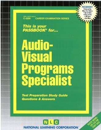 Audio-Visual Programs/Production Specialist