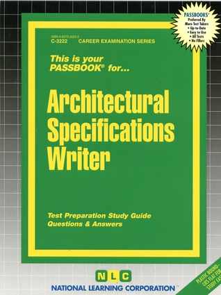 Architectural Specifications Writer