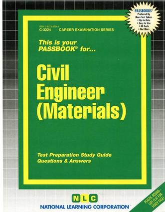 Civil Engineer (Materials)