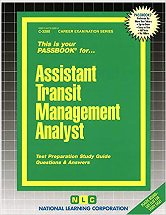 Assistant Transit Management Analyst
