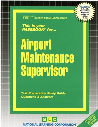 Airport Maintenance Supervisor