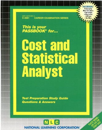 Cost and Statistical Analyst