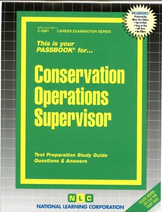 Conservation Operations Supervisor