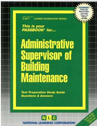 Administrative Supervisor of Building Maintenance