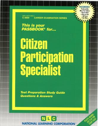 Citizen Participation Specialist