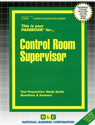 Control Room Supervisor