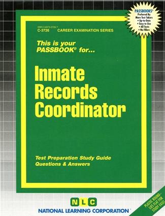 Inmate Records Coordinator