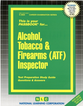 Alcohol, Tobacco & Firearms (ATF) Inspector