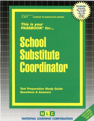 School Substitute Coordinator