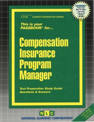 Compensation Insurance Program Manager