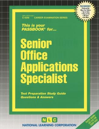 Senior Office Applications Specialist