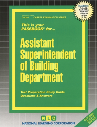 Assistant Superintendent of Building Department