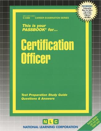 Certification Officer