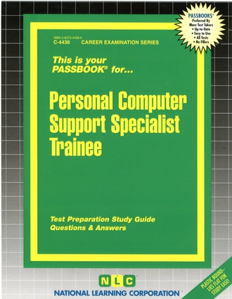 Personal Computer Support Specialist Trainee