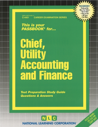 Chief, Utility Accounting and Finance