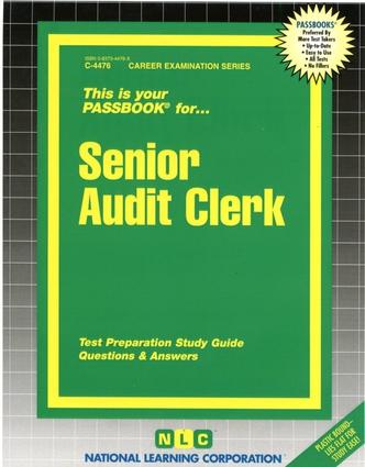Senior Audit Clerk