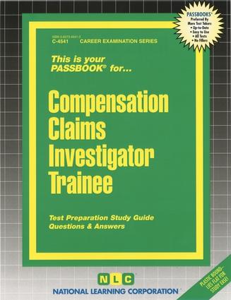 Compensation Claims Investigator Trainee