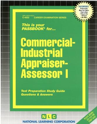 Commercial-Industrial Appraiser-Assessor I