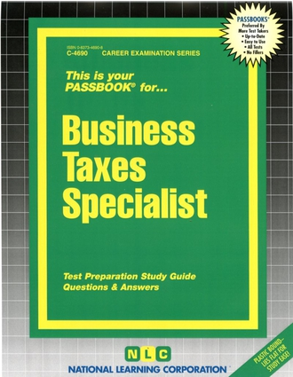 Business Taxes Specialist