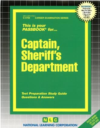 Captain, Sheriff's Department
