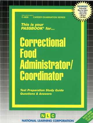 Correctional Food Administrator/Coordinator
