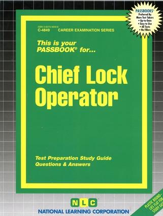 Chief Lock Operator