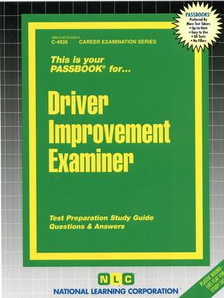 Driver Improvement Examiner