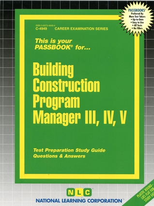 Building Construction Program Manager III, IV, V