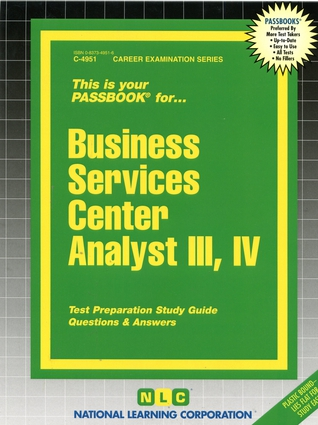 Business Services Center Analyst III, IV