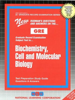 BIOCHEMISTRY, CELL AND MOLECULAR BIOLOGY