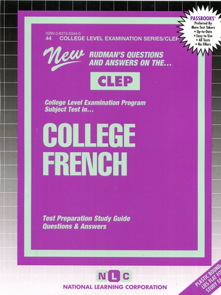 COLLEGE FRENCH (French Language)