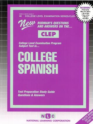 COLLEGE SPANISH (Spanish Language)