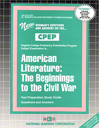 AMERICAN LITERATURE: BEGINNINGS TO THE CIVIL WAR