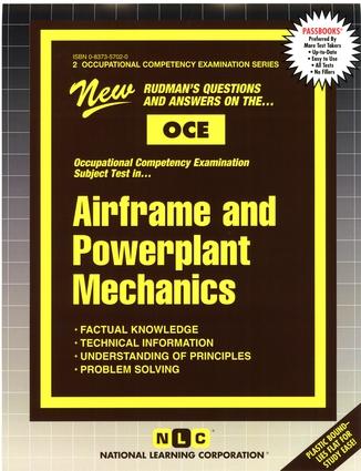 AIRFRAME AND POWERPLANT MECHANICS