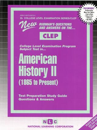 AMERICAN HISTORY II (1865 To Present)
