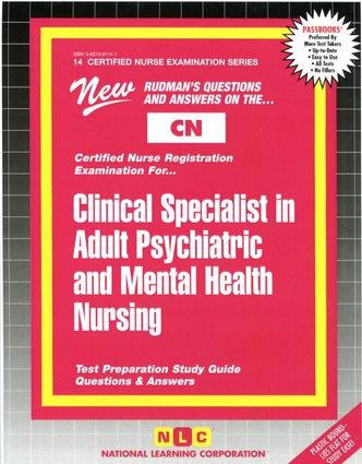 CLINICAL SPECIALIST IN ADULT PSYCHIATRIC AND MENTAL HEALTH NURSING